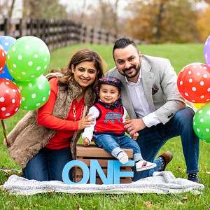 Minky & Rohit's Family Portraits