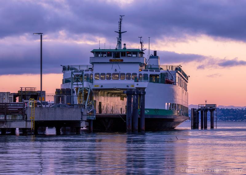 Empty Ferry