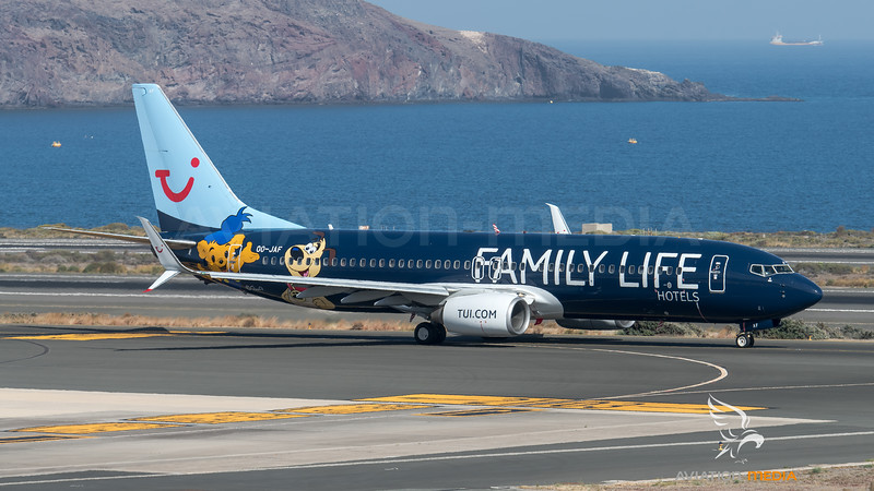TUI / Boeing B737-8K5 / OO-JAF / Family Life Hotels Livery