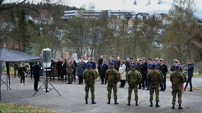80 og 75 års minnemarkering av gjenerobring av Narvik