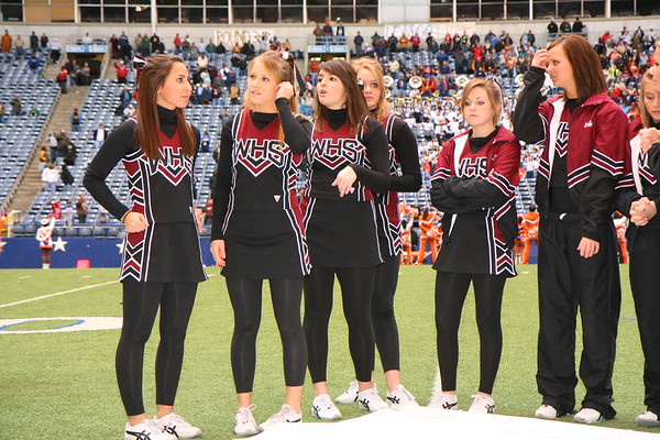 November 29,2008 Texas Stadium - Wylie High School Cheerleaders