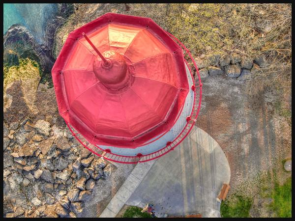 Lighthouse at Marblehead, Ohio