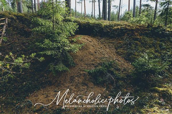 Ulkoluodon Hästnäsudden, söpö pikku kallio metsäpolun päässä