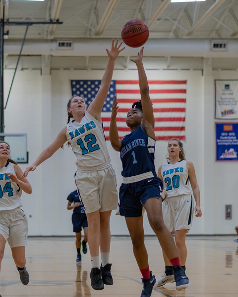2019-01-02 Indian River vs Hickory Girls Basketball