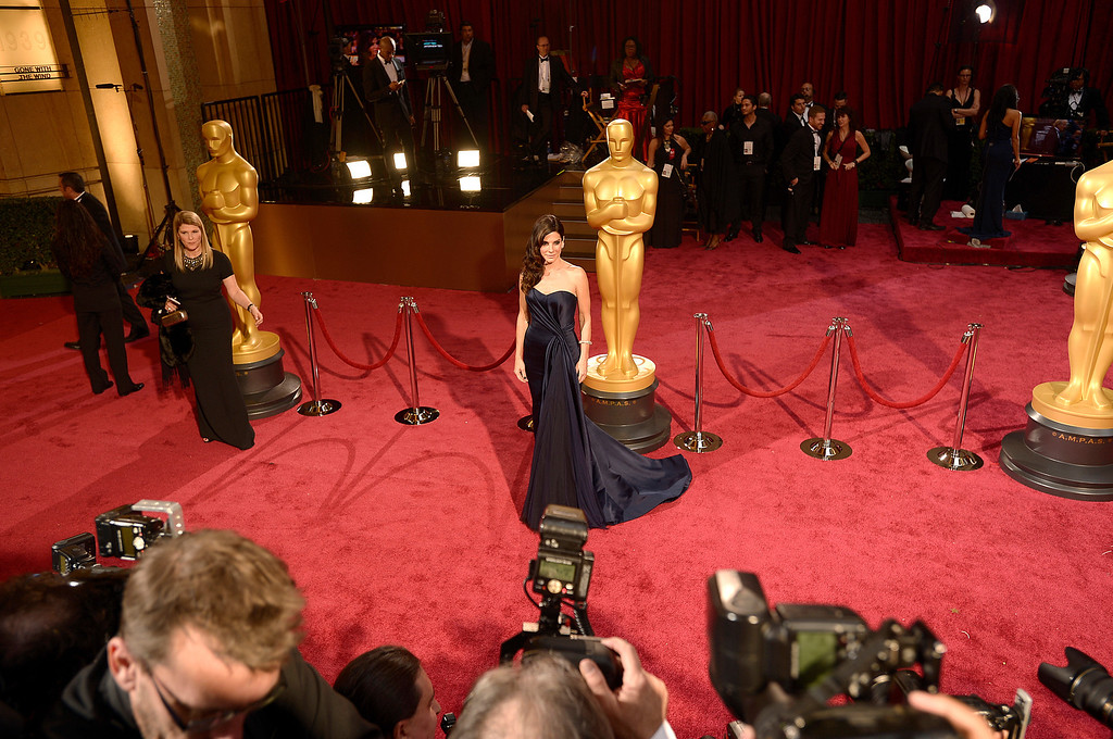. On the red carpet at the 86th Academy Awards at the Dolby Theatre in Hollywood, California on Sunday March 2, 2014 (Photo by John McCoy / Los Angeles Daily News)