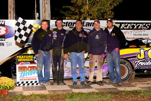 Punky Manor CoC - Late Models - September 23, 2011