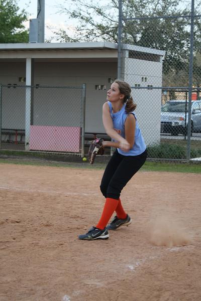 Softball JV girls 2-22