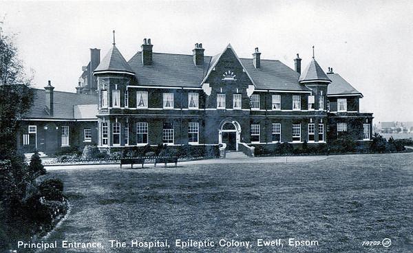 St Ebbas Hospital,Epsom 2007.