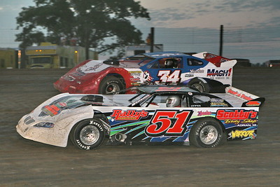 UMP Late Models, Oakshade Raceway, Wauseon, OH, August 11, 2007