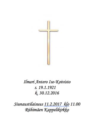 Ilmari Iso-Koivisto