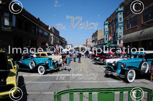 Aurora, IL La Salle Street Auto Show 8-21-11