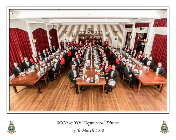 SCCO & YO's Regimental Dinner