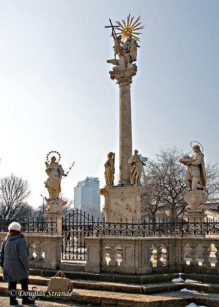 Religious monument in Bratislava