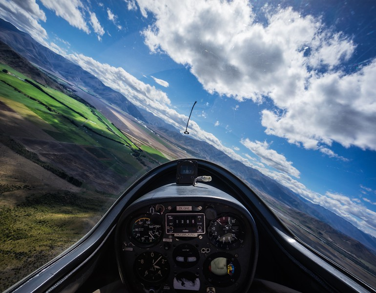 Gliding Over the South Island