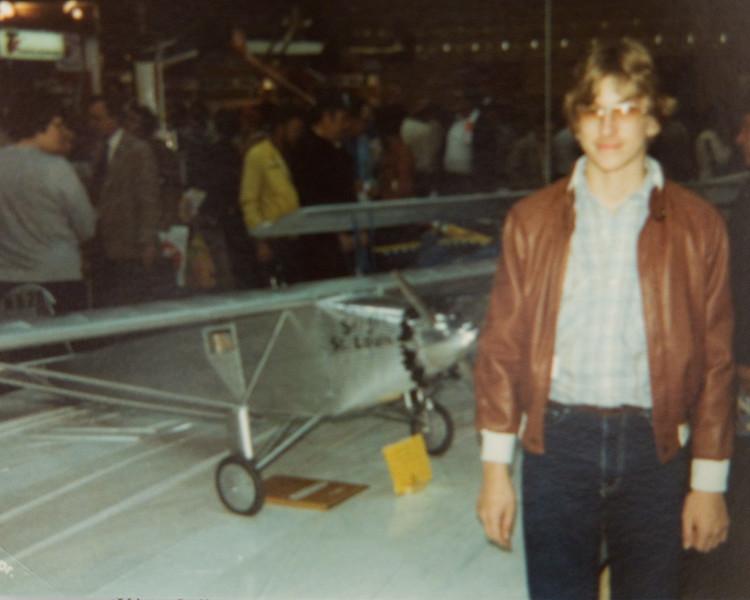 Me at Toledo, OH around 1978.