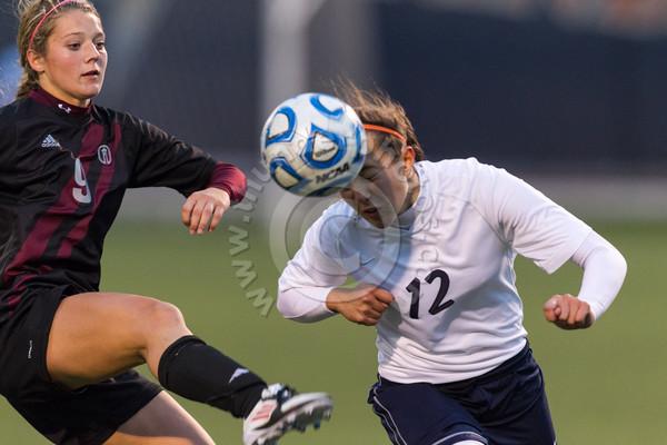 Wheaton College Women's Soccer vs Trinity, October 5, 2012