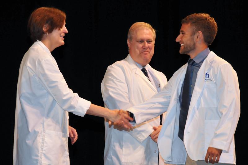 White Coat Ceremony; 2013; Avery Ellis; University at Buffalo; CFA