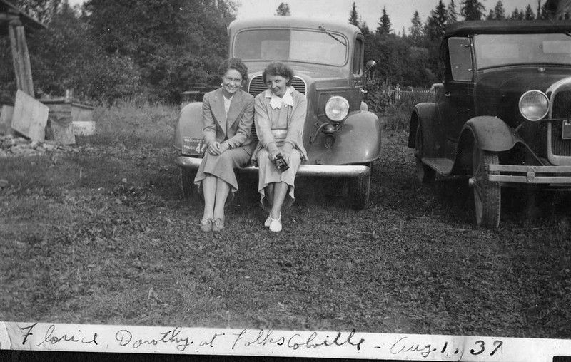 Florice (Birchill) Herdrich and Dorothy Herdrich