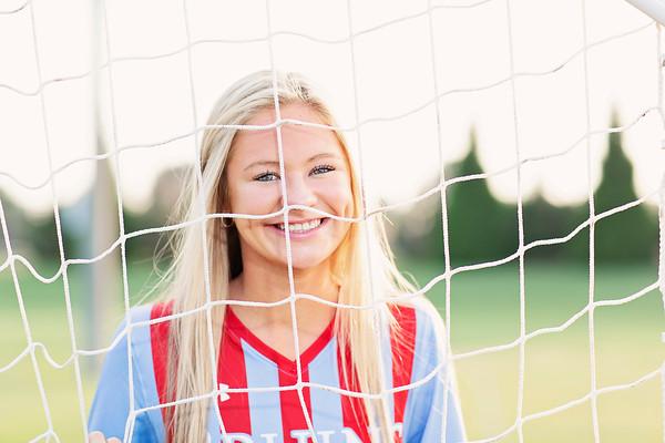 USJ girls soccer Senior banner pics 2021