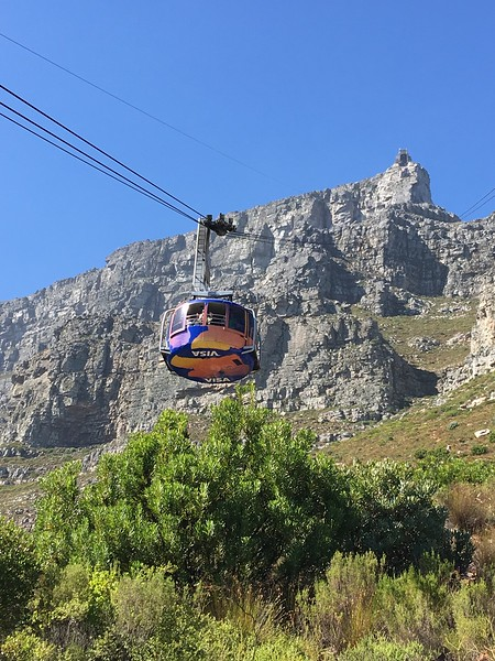 Gondola to Table Mountain in Capetown - Rob Williamson