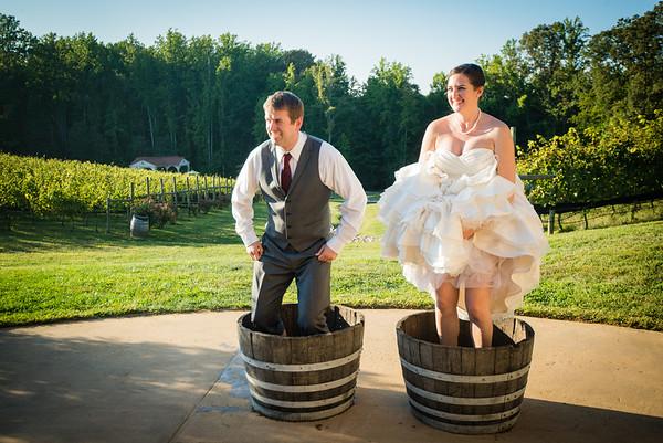 Holly and John - Virginia Winery Wedding