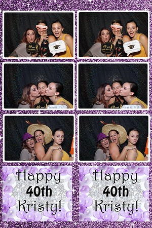 Kristy's 40th Photo Booth