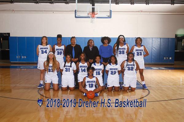20108-2019 Varsity  Girls Basketball