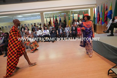 Fashion Show - The Ceremony honoring The Legacy  of  Haile Selassie at the Ethiopian Embassy in Washington DC