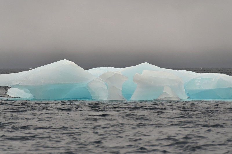 Iceberg at Cape Fligely, Rudolph Island