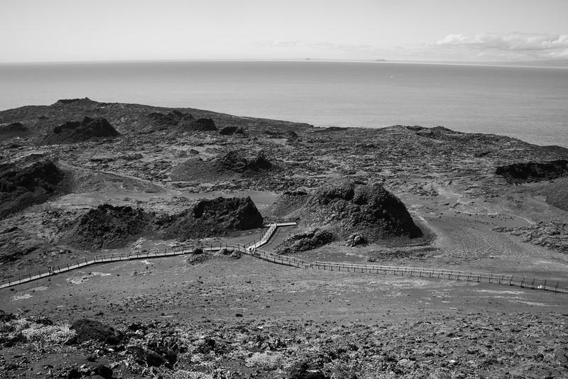WALKING ON ISLA BARTOLOMÉ