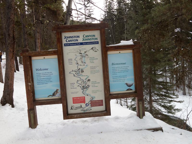 Banff Johnston Canyon