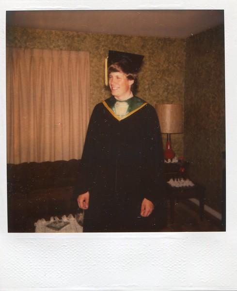 Mark's High School Graduation picture.
