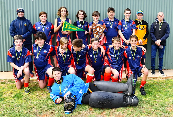 U15 Men PREMIERSHIP TEAM PHOTO Berri