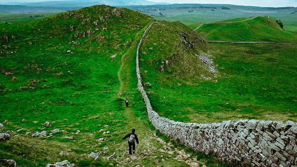 Hadrian's Wall Walk 2011