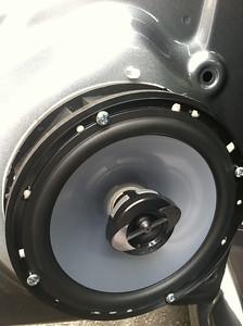 2013 Volkswagen Jetta S Rear Door Speaker Installation - USA