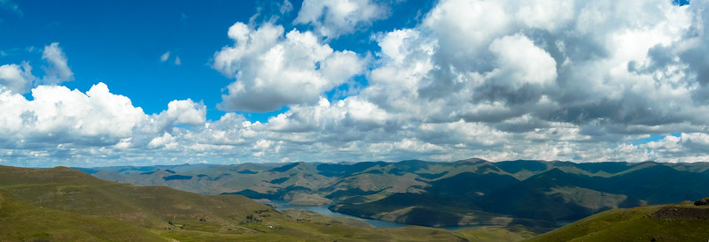 Lesotho, seriously big sky country!