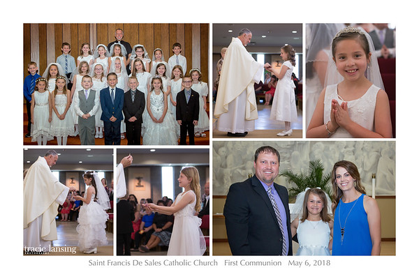 SFDS 1st Communion 2018