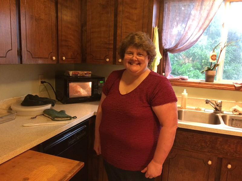 Aunt Kathy - the cook