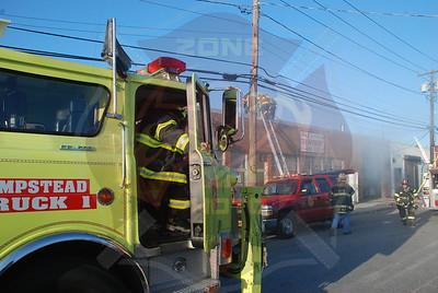 Hempstead F.D. Working Fire 112 Taft Ave. 5/22/09