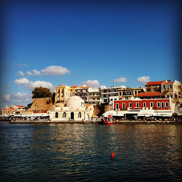 Chania harbor, #Crete
