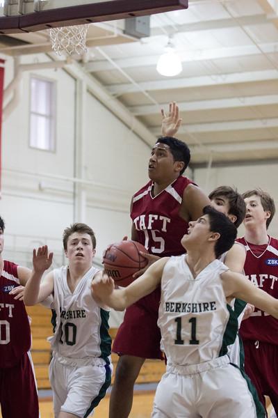 1/20/16: Boys' JV Basketball v Berkshire
