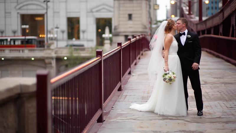 Allison + Derek: Wedding Short Film @ St James Chapel and Ivy Room Chicago, IL V3