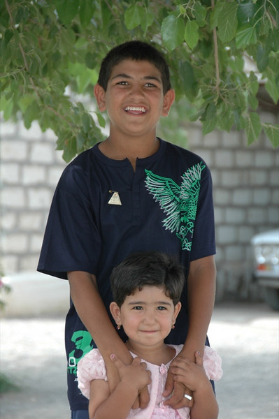 Brother and Sister - Paraw Bibi, Turkmenistan