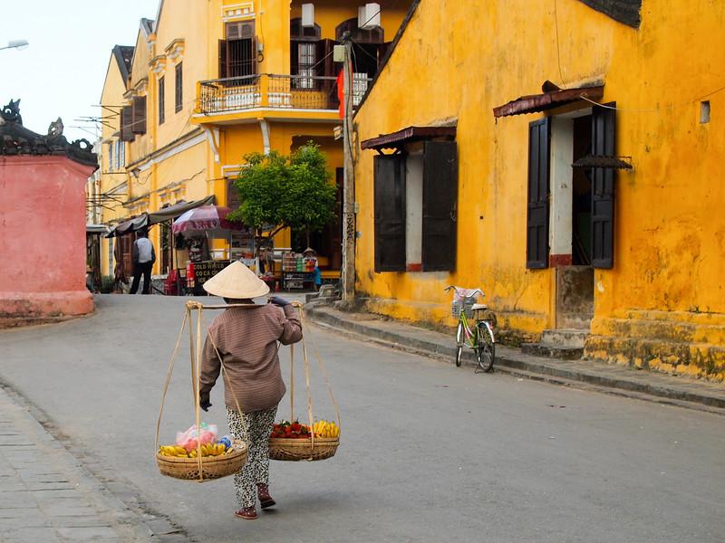 Street scene in Hoi An, Vietnam