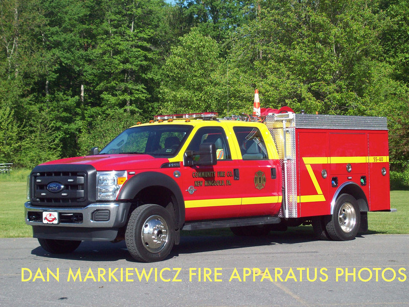 COMMUNITY FIRE CO. BRUSH 55-40 2014 FORD/KME BRUSH UNIT