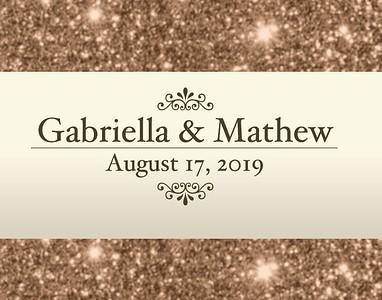 Gabriella & Mathew's Wedding!