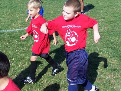 Noah Starts Soccer September 2007
