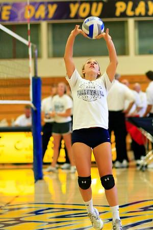 Girls Varsity Volleyball Vista vs Oak Ridge 08-30-2010