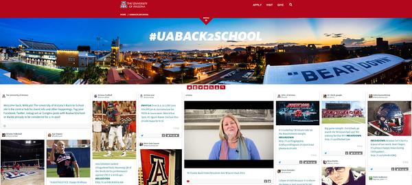 University - Websites