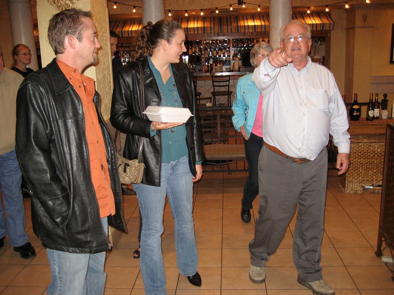 Circa:2009, John visits Jeff & Family